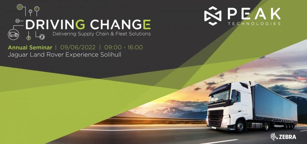 Driving Change 2022 | A Peak Technologies Event